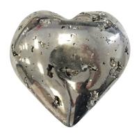 Coeur en Pyrite entre 100 et 150 g