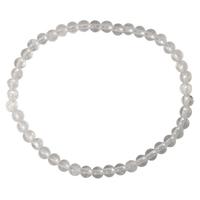 Bracelet Perles Rondes Cristal de Roche - 4 mm (Lot de 3)