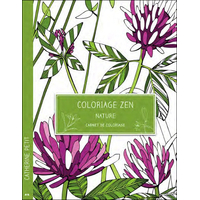 Coloriage Zen - Nature - Carnet de Coloriage - Catherine Petit