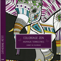 Coloriage Zen - Animaux Terrestres - Catherine Petit