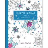 Coloriage Inspirant - Hiver - Carnet de Coloriage -  Laura Csajagi