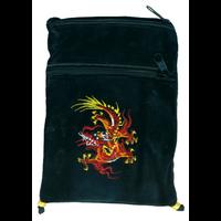 Pochette Passeport Velours - Dragon