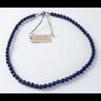 Collier Lapis Lazuli Perles Rondes 6 mm