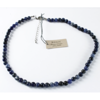 Collier Sodalite Perles Rondes 8 mm