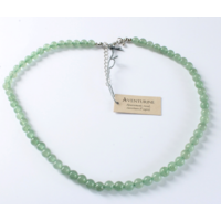 Collier Aventurine Perles Rondes 6 mm