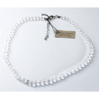 Collier Cristal de Roche Perles Rondes 6 mm