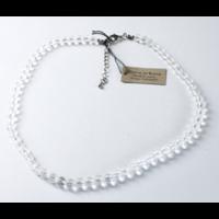 Collier Cristal de Roche Perles Rondes 8 mm