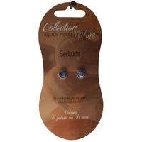 Boucles d'Oreilles Perle 6 mm - Sodalite - Lot de 6