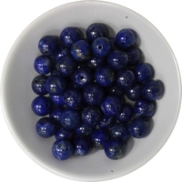 Perles Lapis Lazuli 8 mm - Sachet de 50 Perles