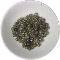 Perles Labradorite 4 mm - Sachet de 100 Perles