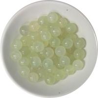 Perles Jadéite 8 mm - Sachet de 50 Perles