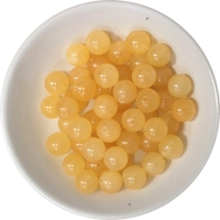 Perles Calcite Orange 8 mm - Sachet de 50 Perles