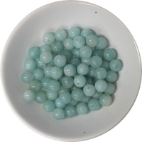 Perles Amazonite 6 mm - Sachet de 66 Perles