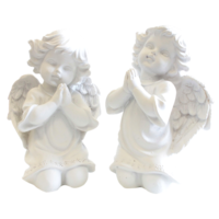 Ange Résine à Genou en Prière - MM