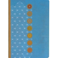 Carnet A5 - 64 Pages - Les 7 Chakras