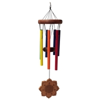 Carillon Multicolore Chakra et Fleur de Vie