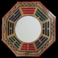 Miroir Protection Concave Pa-Kua - 15,5 cm