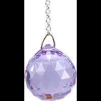 Boule de Cristal à Facettes Violet : Sahasrara