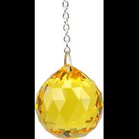 Boule de Cristal à Facettes Topaze : Manipura