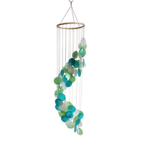 Mobile Coquillages - Turquoise Vert et Blanc