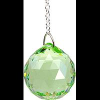 Boule de Cristal à Facettes Peridot : Anahata
