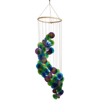 Mobile Coquillages - Bleu Vert et Violet