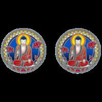 Attrape Soleil Bouddha - Lot de 2