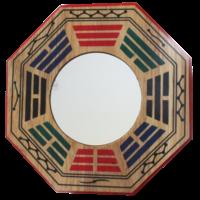 Miroir Protection Convexe Pa-Kua - 15,5 cm