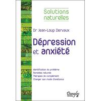 Dépression et Anxiété - Dr. Jean-Loup Dervaux