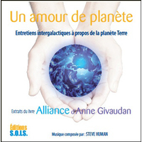 Un Amour de Planète - Livre Audio - Anne Givaudan