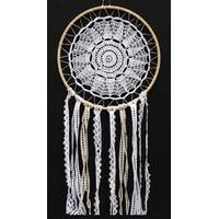 Dreamcatcher Crochet et Dentelle Godiva - 30 cm