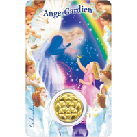 Carte Protection Ange Gardien Fille