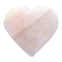 Coeur Mangano Calcite 100 à150 gr
