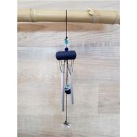 Petit Carillon à Vent en Cristal - Bleu