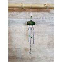 Petit Carillon à Vent en Cristal - Vert