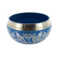 Bol Chantant Coloré Bleu - 12 cm