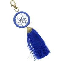 Porte Clés - Dreamcatcher - Pompon Bleu Roi