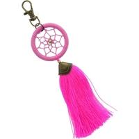 Porte Clés - Dreamcatcher - Pompon Rose