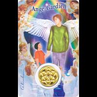 Carte Protection Ange Gardien Garçon