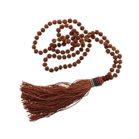 Mala Rudraksha Marron - 8 MM