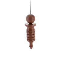 Pendule en Bois Osiris 8 cm
