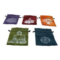 Pochette Coton Méditation - Lot de 5