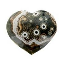 Coeur Jaspe Orbiculaire - 5 cm