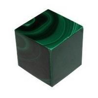 Cube Malachite Reconstituée 2 x 2 cm