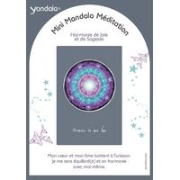 Mini Yandala Méditation - Harmonie de Joie et de Sagesse