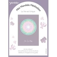 Mini Yandala Méditation - La Vie est Unique