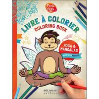 Livre à Colorier Yoga & Mandalas - France Hutchison & Irène Lumineau