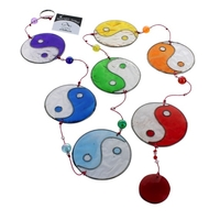 Attrape Soleil Yin Yang Multicolore avec Perles