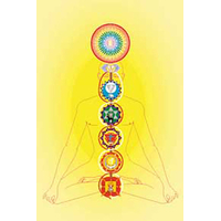 Chakras - Lot de 10 Cartes