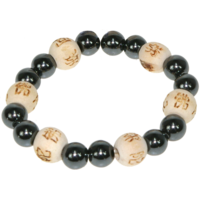 Bracelet Perles de karma Kids - Hématite